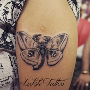 Life of seed tattoo by Mahesh Ogania