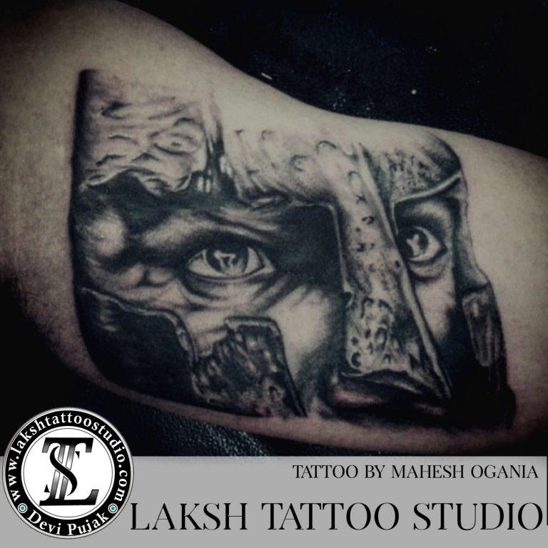 knight-tattoo-by-mahesh-ogania