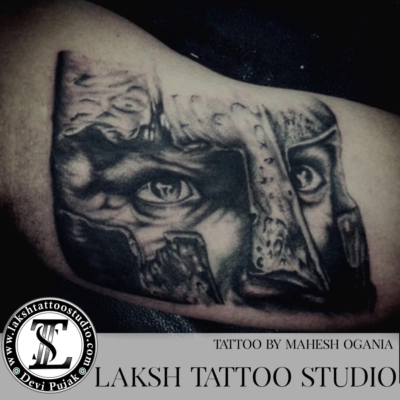 knight tattoo by Mahesh Ogania