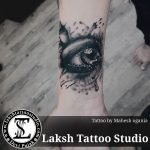Eye tattoo also have a spiritual meaning, especially those 'third eye'